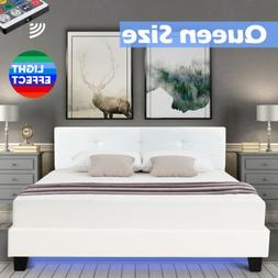 Mecor Folding Bed with Mattress, Metal Rollaway Guest Bed fo