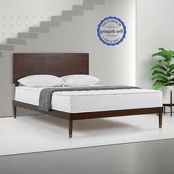 Mattress Bed In A Box Platform Metal Frame Spring Coils Box
