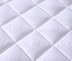 Everest Premium Plus Mattress Pad HypoallergenicQuilted Matt