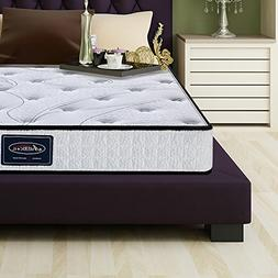 LCH Hybrid Mattress 8 Inch Queen Tight Top - Memory Foam Sim