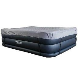 Intex Queen Raised Air Mattress Bed with Built-In Electric P