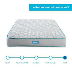 Full Size Mattress Kids Teens Guest Room Innerspring Firm Ma