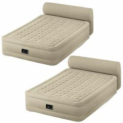 Intex Queen Ultra Plush Elevated Airbed with Built in Pump +