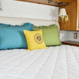 AB Lifestyles RV Camper Short King 72x75 USA Made Quilted Ma