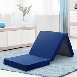 s04tm02molvc folding bed mattress standard blue