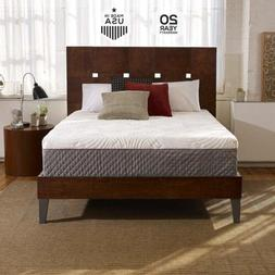 shiloh 12 inch memory foam mattress