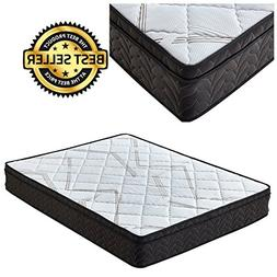 Premium Sleep Comfort 9 Inch Euro Top Mattress King Soft Plu