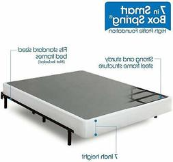 Zinus Armita 7 Inch Smart Box Spring / Mattress Foundation /