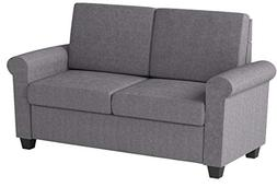 DHP Premium Sofa Bed, Pull Out Couch, Sleeper Sofa with Pull