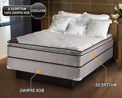 Spinal Dream Soft Plush Pillow Top   Mattress and Box Spring