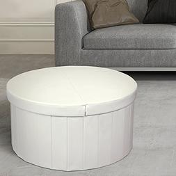 Otto & Ben Storage Ottoman Coffee Table with Smart Lift Top
