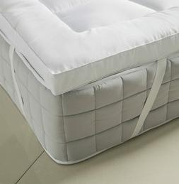 Extra Thick 3 Inch Down Alternative Mattress Topper Cooling