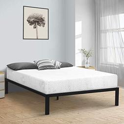 SLEEPLACE SVC14BX04Q Bed Frame, Queen, Black