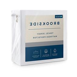 Brookside Tencel Jersey Mattress Protector-Soft and Quiet-Hy