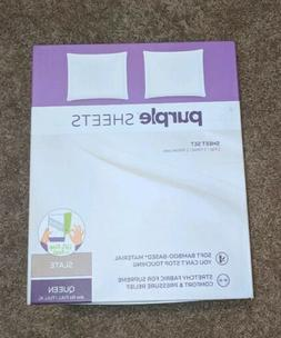 The Purple Mattress Sheet Set *Queen/Full/Full XL* Color Sla