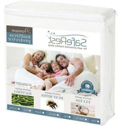 Twin Premium SafeRest Hypoallergenic Waterproof Mattress Pro
