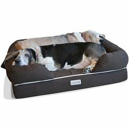 ultimate memory foam dog bed and lounge