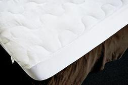 Natural Comfort Mpsk-Tiwn Ultra Soft Mattress Pad, Twin, Whi