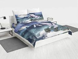 Unicorn Nursery Bedding Sets for Boys Legendary Creature on