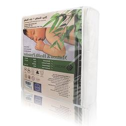 Waterproof Bamboo Mattress Encasement Zippered Bedbug & Dust