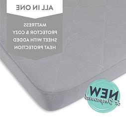 Waterproof Cotton Quilted Pack n Play Sheet | Mini Crib Shee