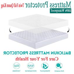Waterproof King Queen Full Size Mattress Protector Bed Cover