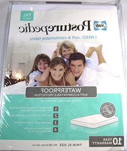 Sealy Posturepedic Waterproof Knit Mattress Protector Twin X