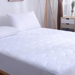 Waterproof Mattress Pad 200TC 100% Cotton Cover Deep Pocket