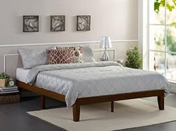 Zinus Marissa 12 Inch Wood Platform Bed / No Box Spring Need